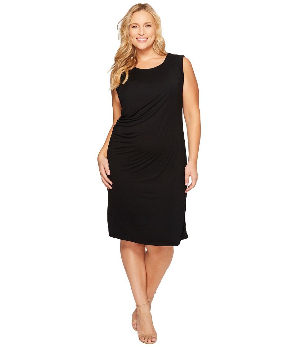 B Collection by Bobeau Curvy - Plus Size Julia Side Drape Knit Dress