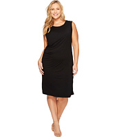 B Collection by Bobeau Curvy - Plus Size Julia Side Drape Knit Dress