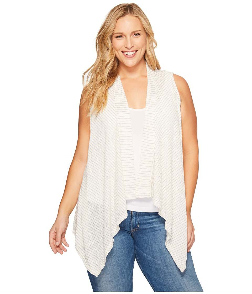 B Collection by Bobeau - Plus Size Gracen Knit Waterfall Vest
