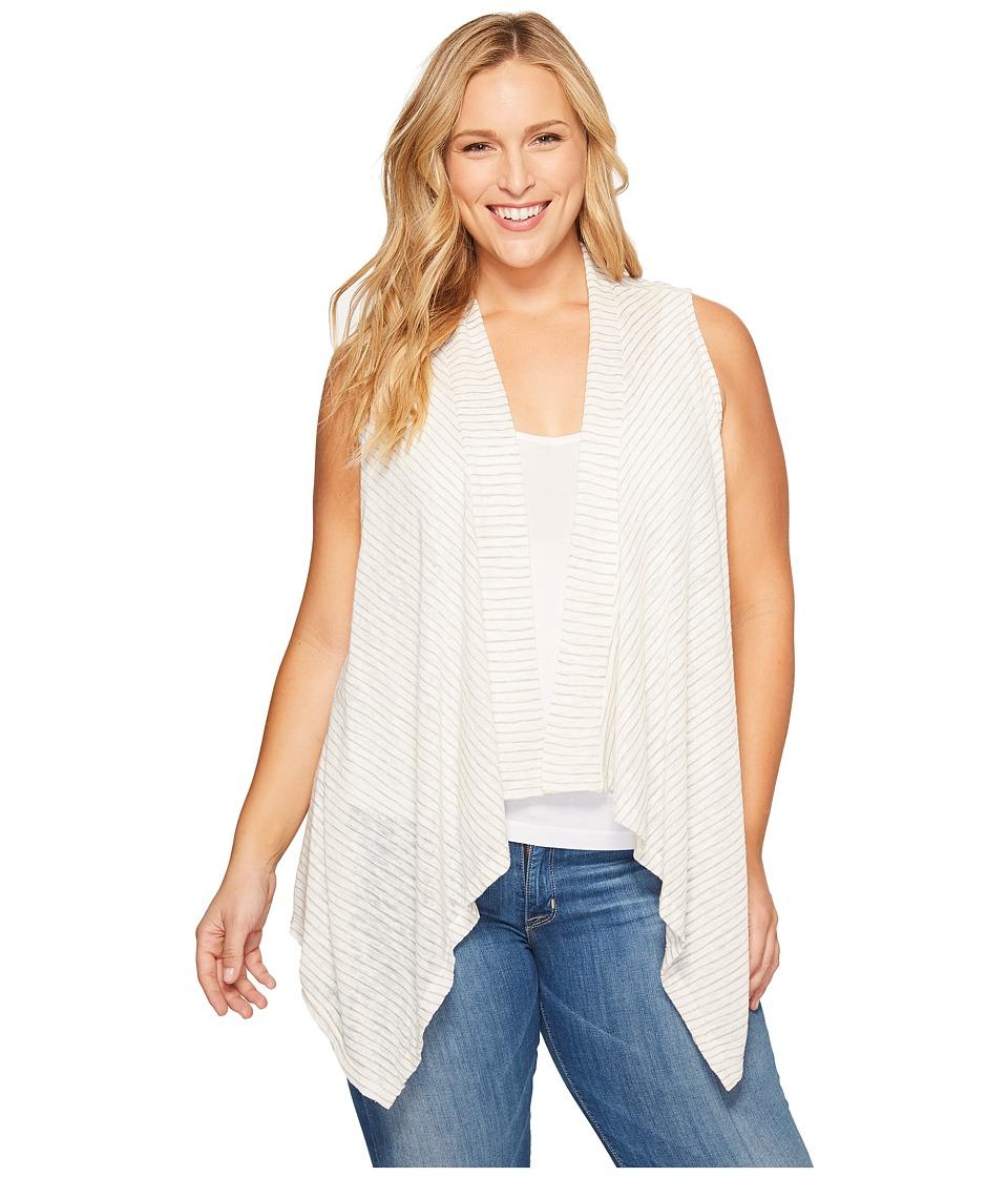 B Collection by Bobeau Curvy - Plus Size Gracen Knit Waterfall Vest