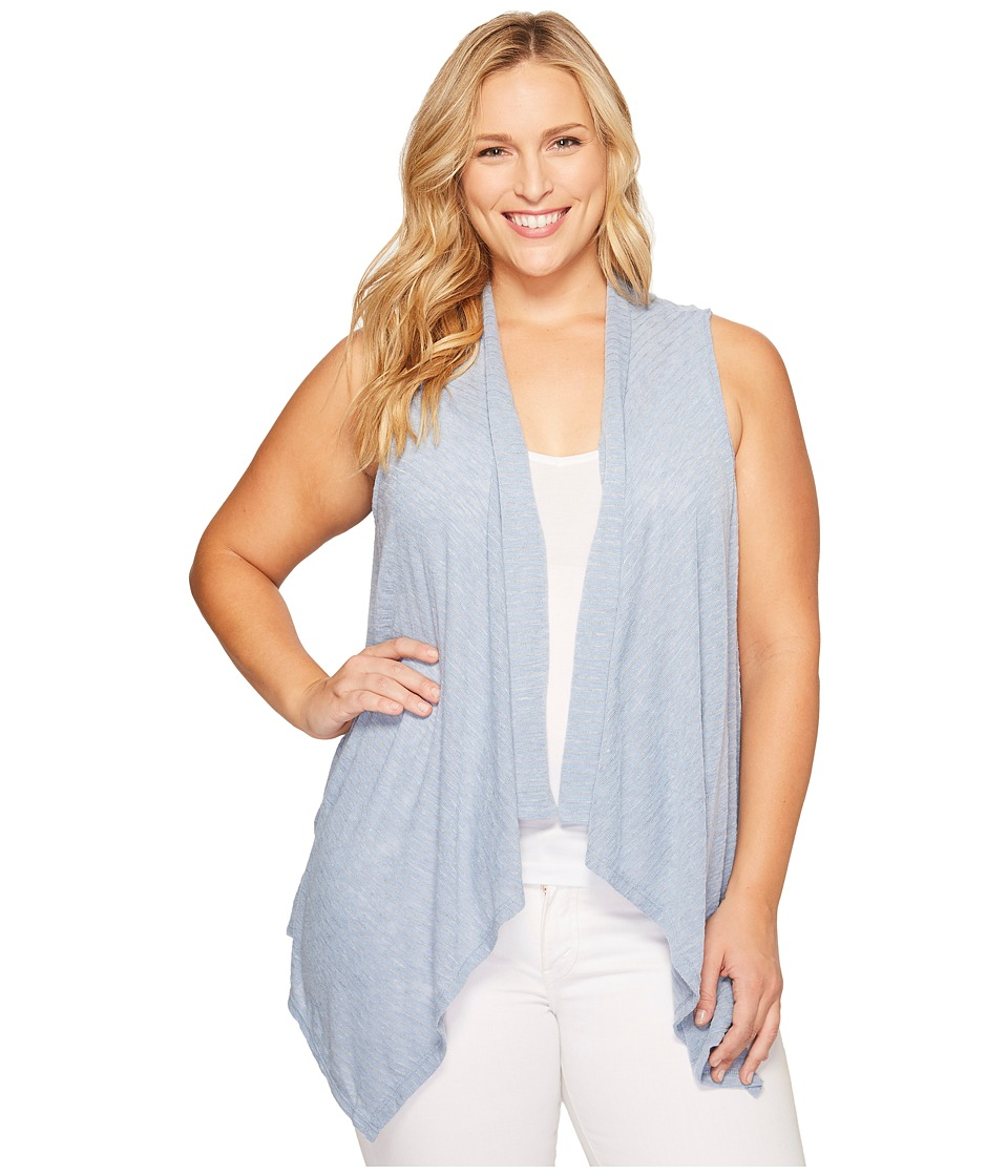 B Collection by Bobeau Curvy B Collection by Bobeau Curvy - Plus Size Gracen Knit Waterfall Vest