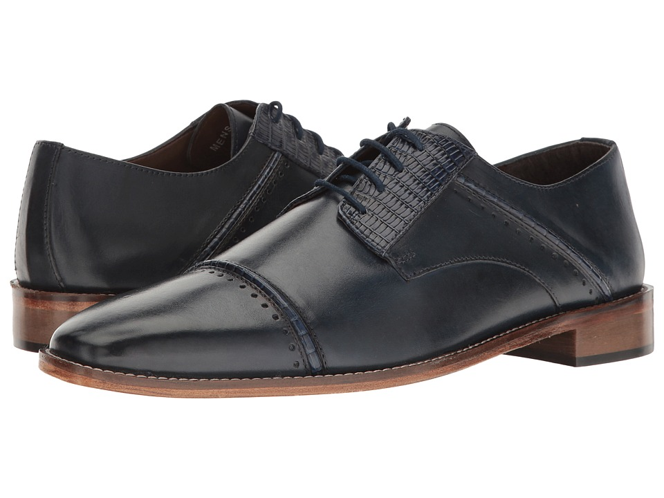 Stacy Adams Ryland (Dark Blue) Men