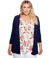 B Collection by Bobeau Curvy - Plus Size Knit Cardigan