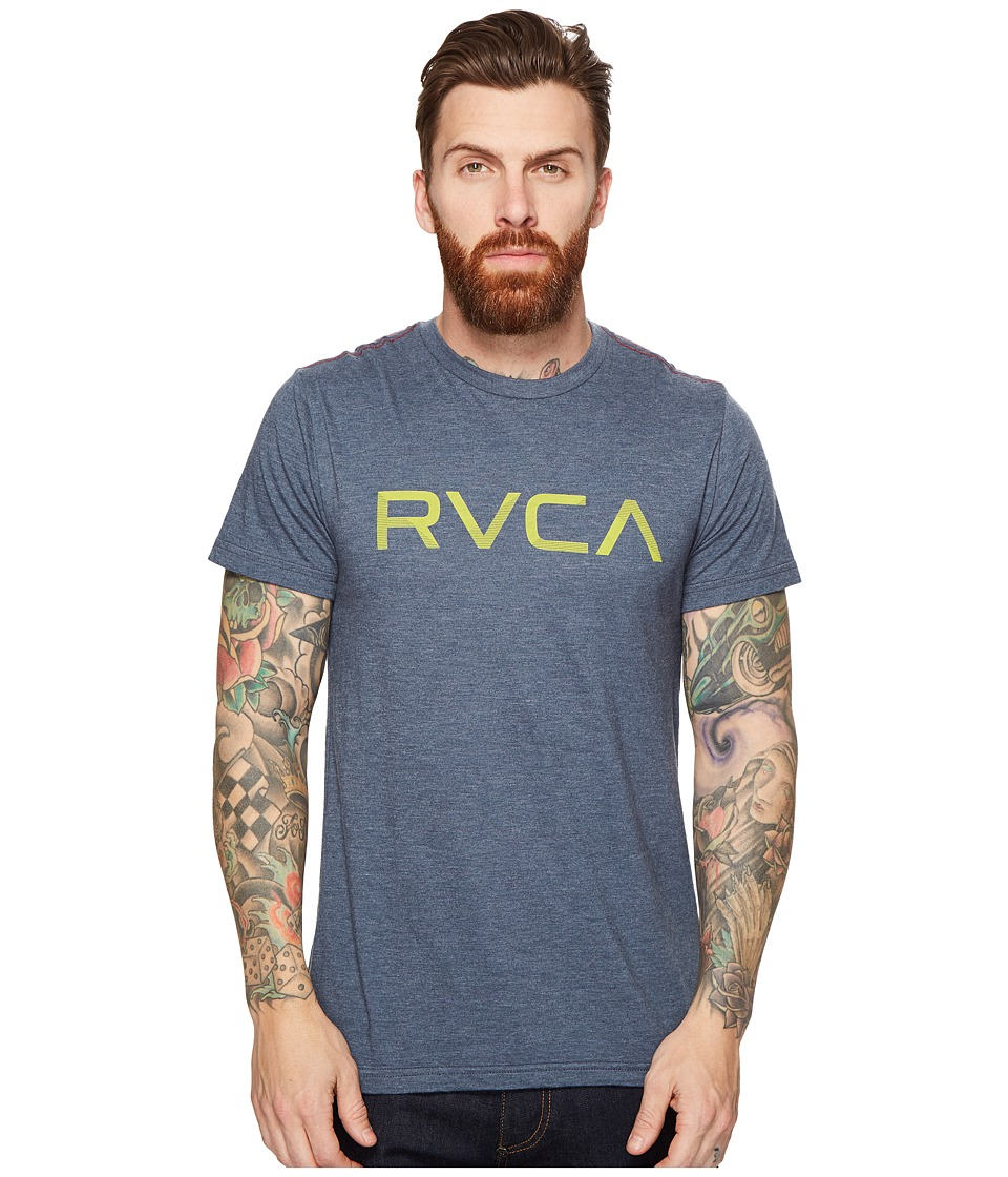 RVCA Shade Tee (Dark Denim) Men