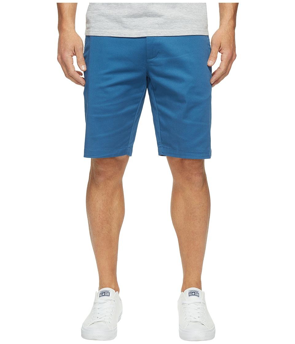 RVCA The Week-End Stretch Shorts (Dark Blue) Men
