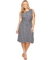 B Collection by Bobeau Curvy - Plus Size Knit Fit & Flare Dress