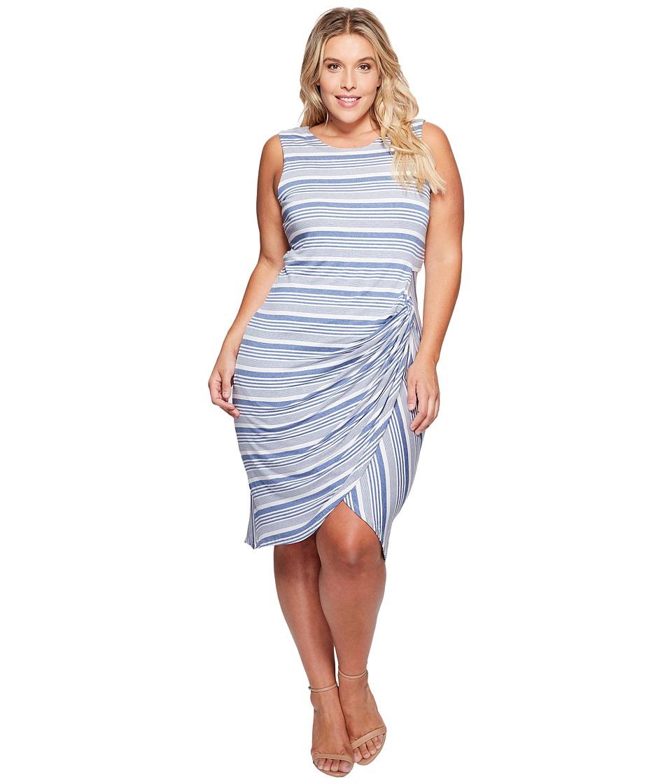 B Collection by Bobeau Curvy - Plus Size Side Gather Tank Dress