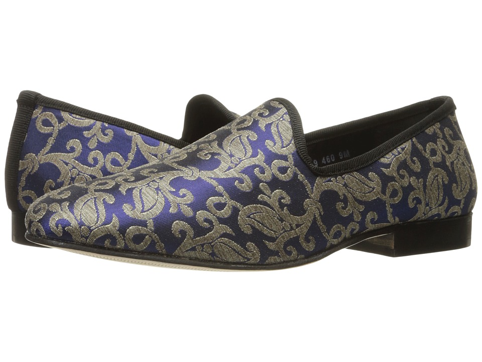 Victorian Men's Formal Wear, Wedding Tuxedo Stacy Adams - Venice Blue Multi Mens Shoes $80.00 AT vintagedancer.com