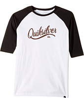 Quiksilver Kids - Sea Scroll Raglan Tee (Big Kids)