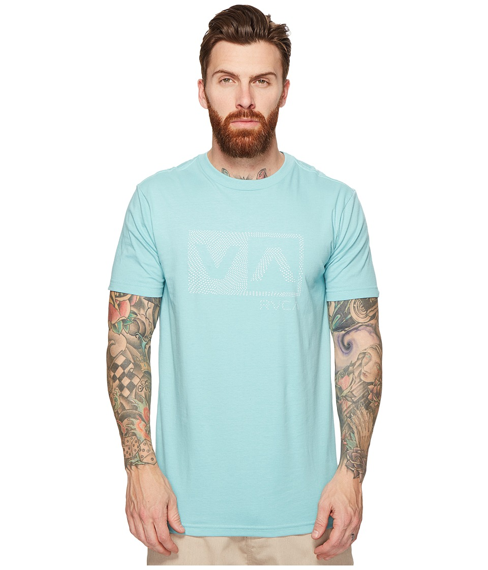 RVCA Warped Dotty Tee (Nile Blue) Men