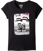 Converse Kids - Vintage Chuck Short Sleeve Tee (Big Kids)