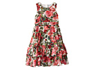 Dolce & Gabbana Kids - Floral Poplin Dress (Big Kids)