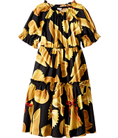 Dolce & Gabbana Kids - Pasta Poplin Dress (Big Kids)