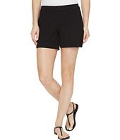 HUE - Lace Trim Pique Shorts