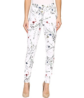 HUE - Floral Curvy Fit Denim Leggings