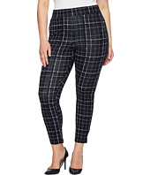 HUE - Plus Size Summer Plaid Loafer Skimmer