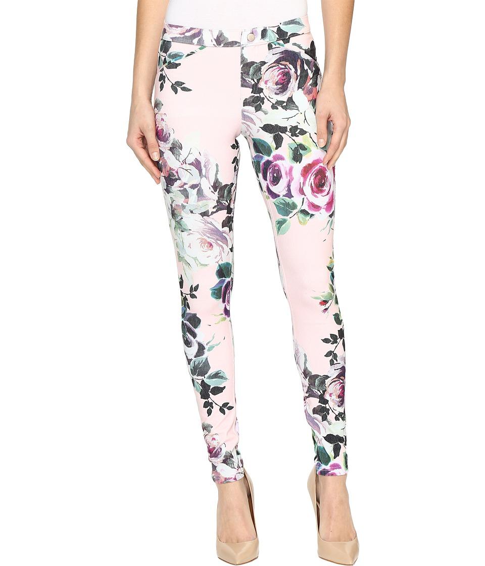 HUE Rose Twill Leggings (Light Pink) Women