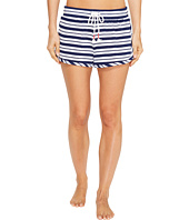 Jane & Bleecker - Navy Harbor Stripe Shorts 3511351