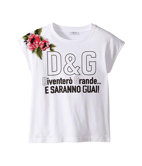 Dolce & Gabbana Kids When I Grow Up Tee (Big Kids)