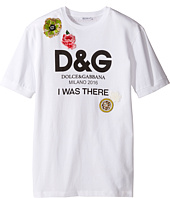 Dolce & Gabbana Kids - I Was There Tee (Big Kids)
