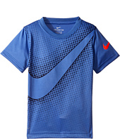 Nike Kids - Swoosh Reverberate Dri-Fit Tee (Little Kids)