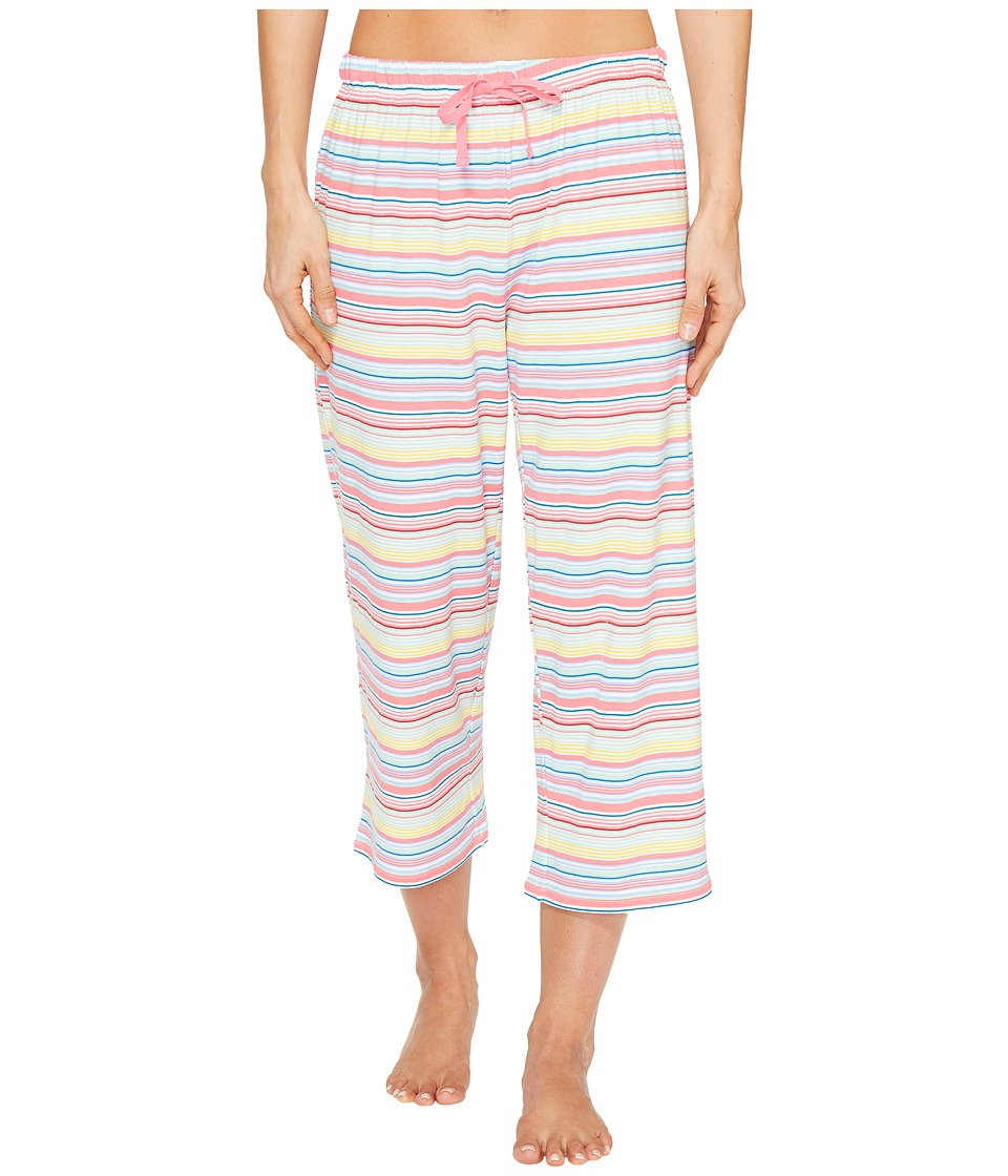 Jockey Striped Capris (Sunset Stripe) Women