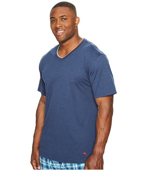 Tommy bahama big tall v neck short sleeve t shirt at for Tall v neck t shirts