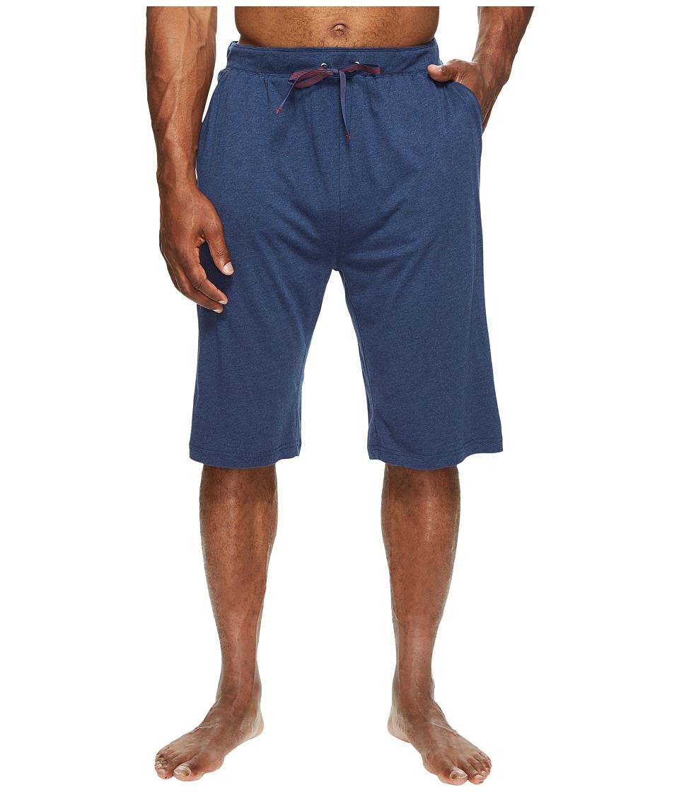 Tommy Bahama Big Tall Knit Jam Shorts (Indigo Heather) Men