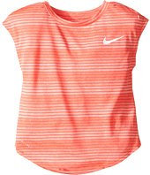 Nike Kids - Stripe Heather Gradient Dri-FIT Tee (Toddler)