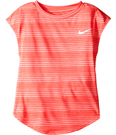 Nike Kids - Stripe Heather Gradient Dri-FIT Tee (Little Kids)