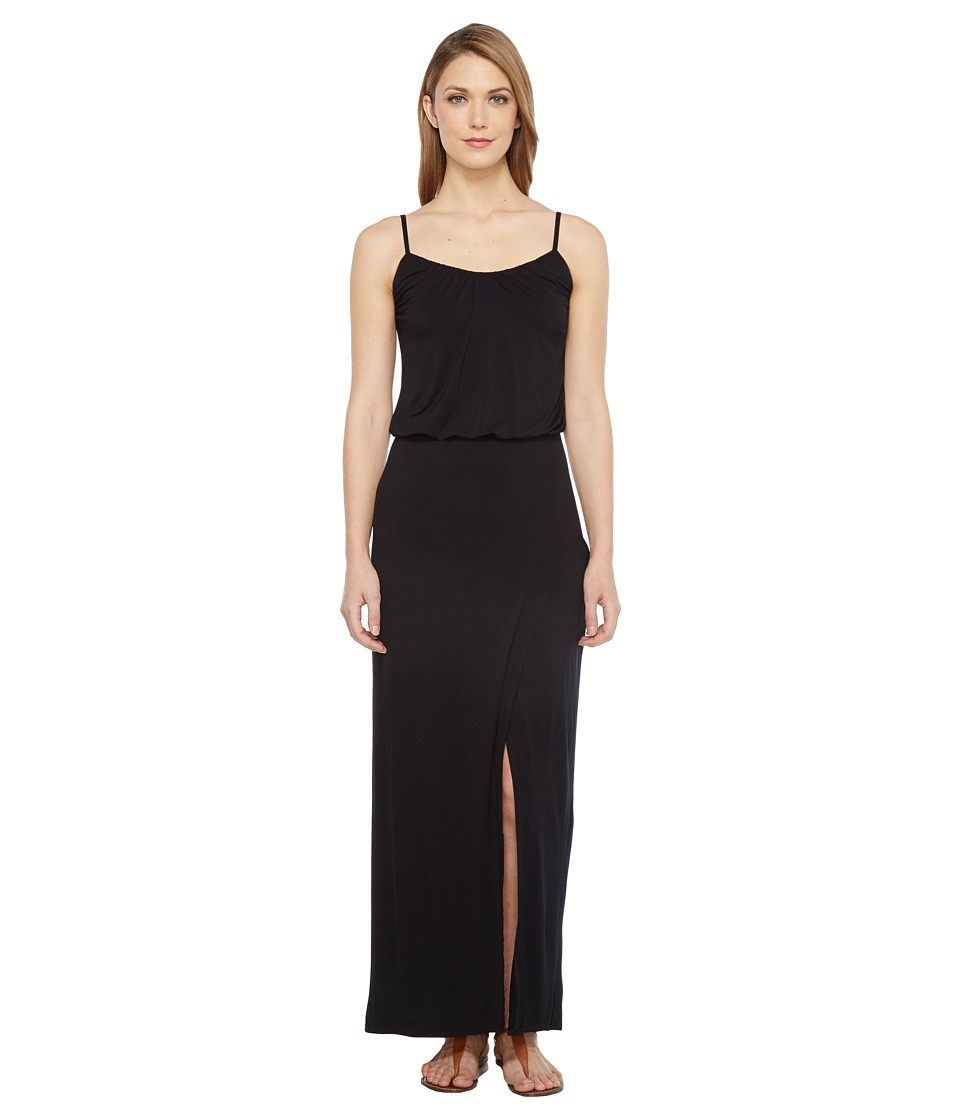 Culture Phit Aviana Spaghetti Strap Maxi Dress (Black) Women