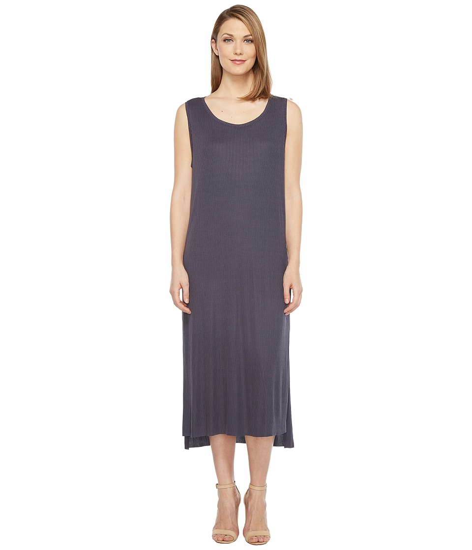 Culture Phit Freja Sleeveless Dress with Front Knot (Navy) Women