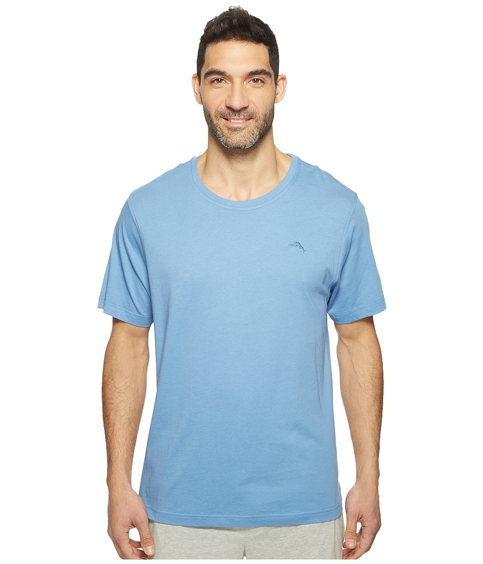 Tommy Bahama Basic Short Sleeve T-Shirt (Buccaneer Blue) Men