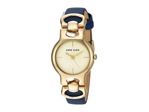 Anne Klein AK-2630CHDB - Blue/Gold-Tone