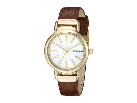 Anne Klein AK-2752MPBN - Brown/Gold-Tone