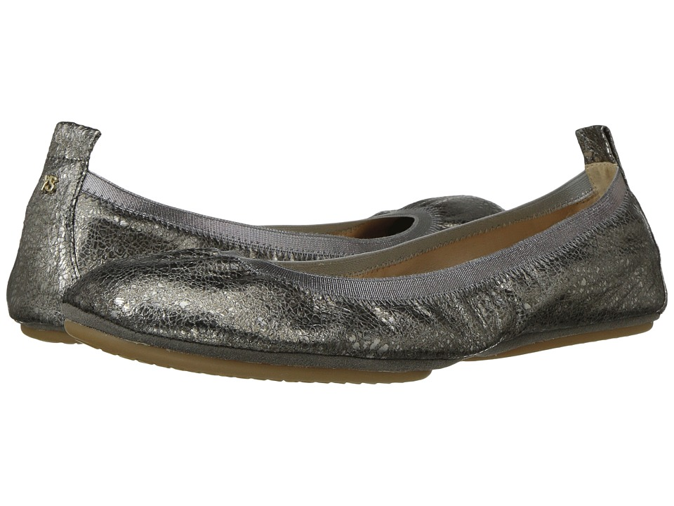 Yosi Samra Samara 2.0 (Muted Pewter) Women's Shoes