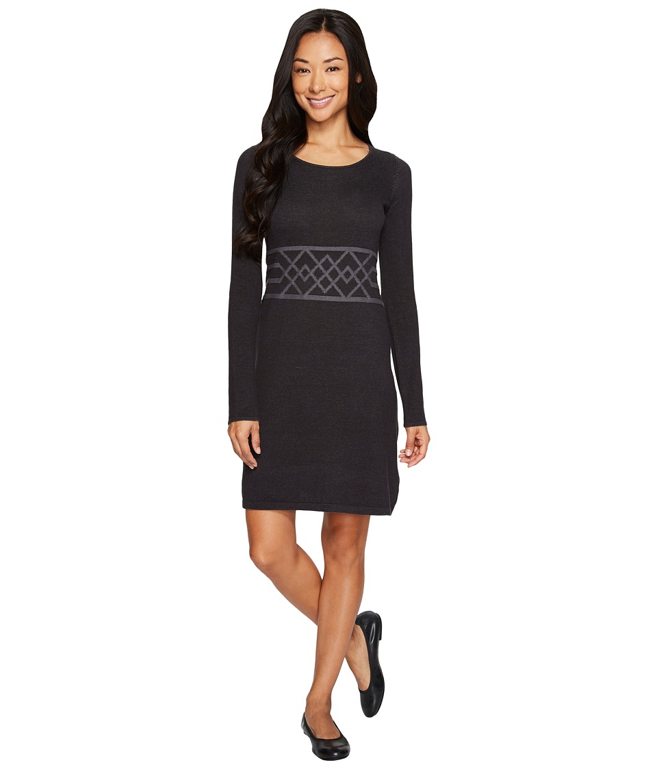 Aventura Clothing Bronte Dress (Black/Castlerock) Women