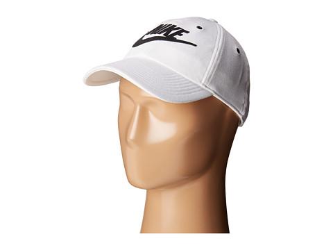 Nike NSW H86 Cap - White/Black