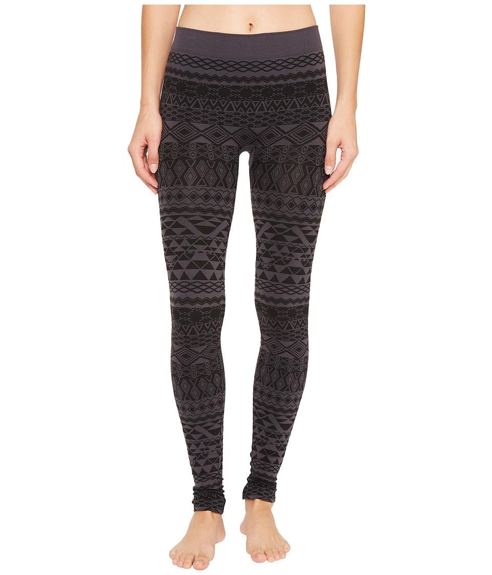 Aventura Clothing Echo Leggings (Black/Grey) Women