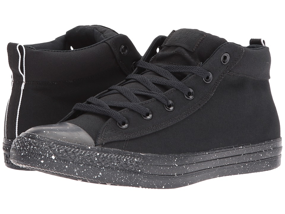 Converse Chuck Taylor All Star Street Mid (Black/White/Black) Classic Shoes