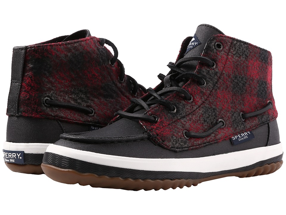 Sperry Pike Remi (Plaid Black/Red) Women