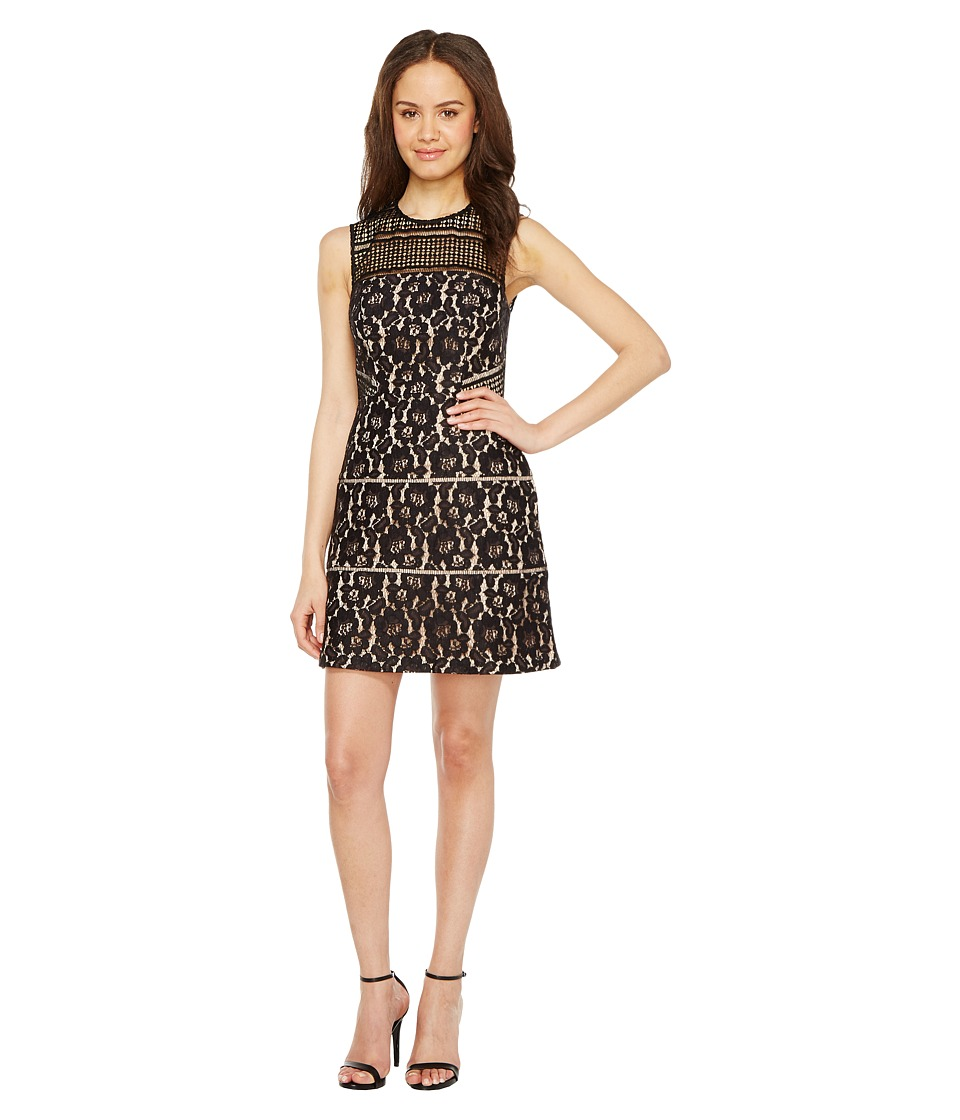 Aidan Mattox Aidan Mattox - Sleeveless Lace Cocktail Dress