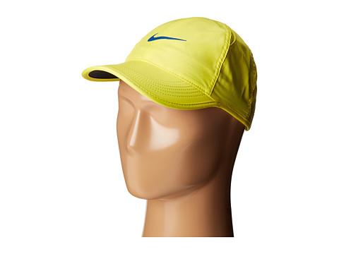 Nike Featherlight Cap - Sonic Yellow/Black/Sonic Yellow/Blue Jay