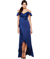 Aidan Mattox - Off The Shoulder Flounce Gown