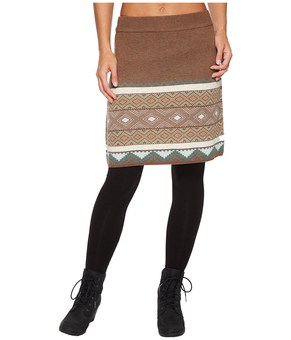 Aventura Clothing Sela Skirt (Chocolate Chip) Women