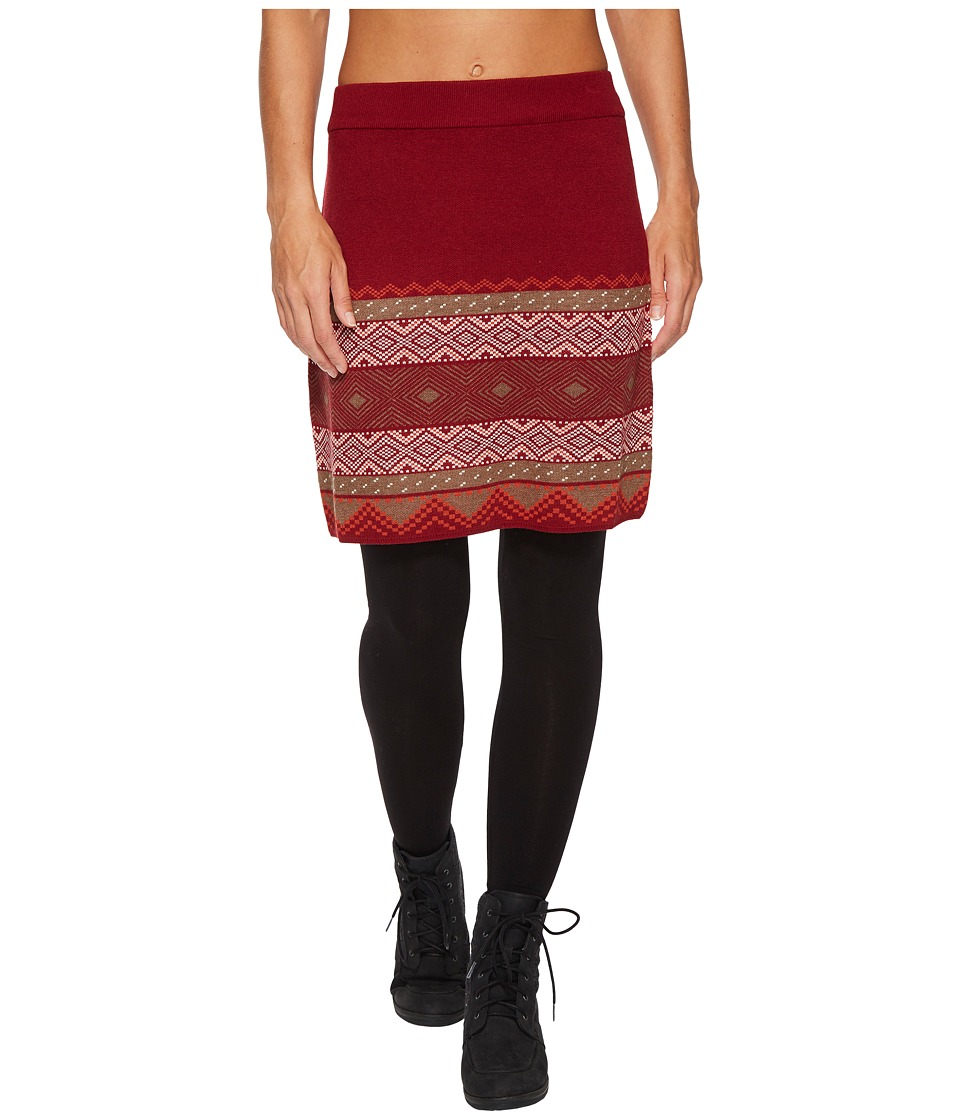 Aventura Clothing Sela Skirt (Biking Red (Prior Season)) Women