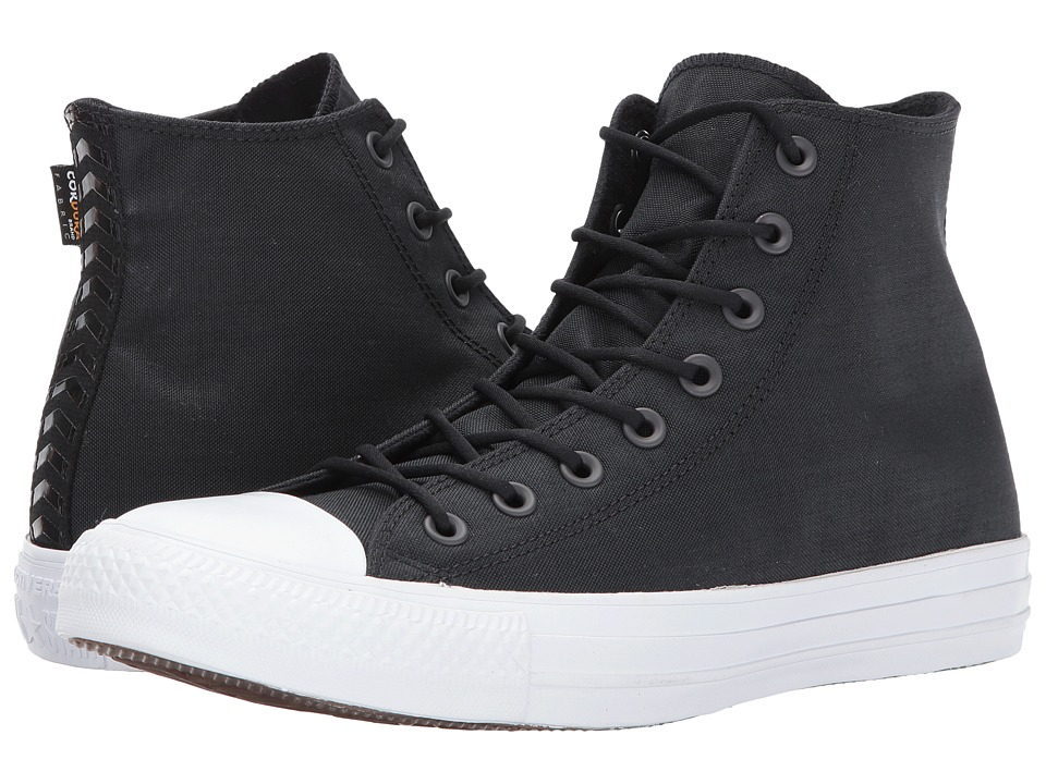 1960s Style Men's Clothing, 70s Men's Fashion Converse - Chuck Taylor All Star Cordura Hi BlackAlmost BlackWhite Classic Shoes $52.99 AT vintagedancer.com