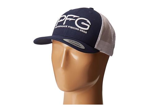 Columbia PFG Mesh Snap Back Ballcap - Collegiate Navy/PFG Hook