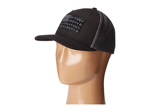 Columbia PHG Mesh Ballcap - Black/Graphite Mesh/PHG Flag