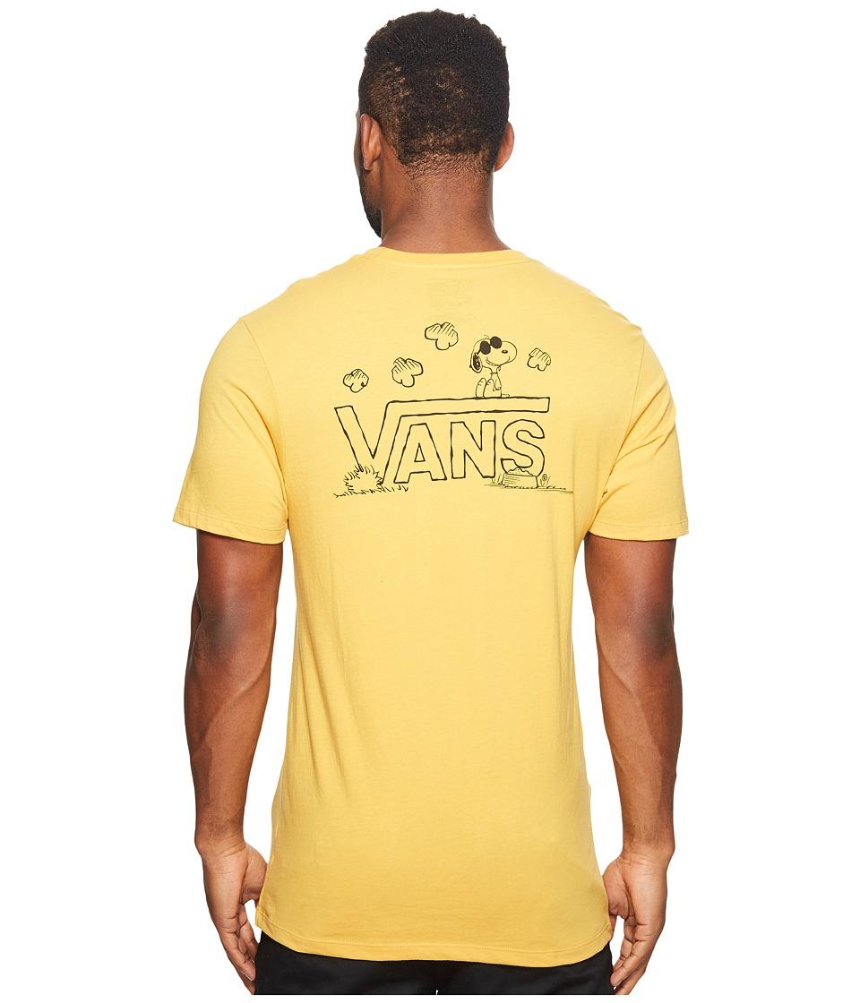 Vans Classic Snoopy Tee (Mineral Yellow) Men
